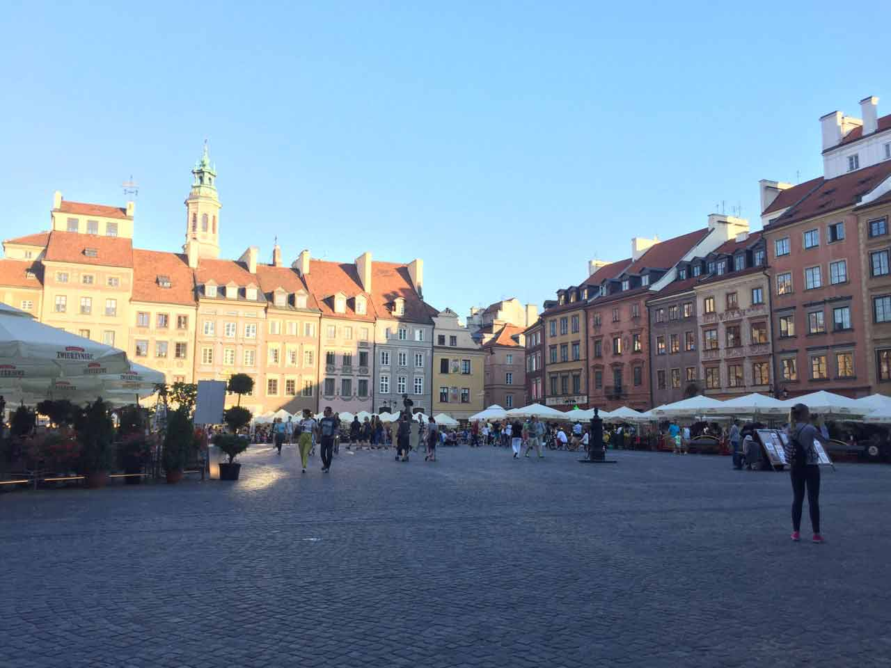 Любимое занятие в свободное время – прогулки по Варшаве