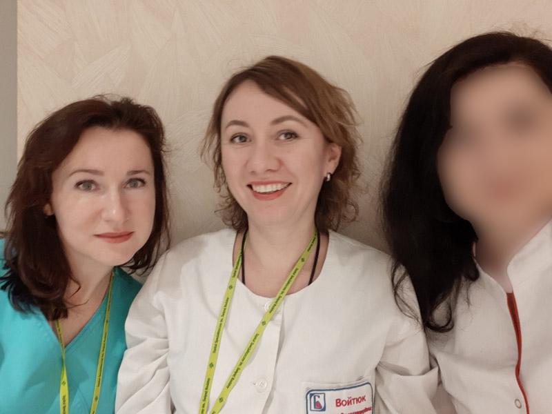 Отзыв о стажировке в Польше Мирославы Войтюк, акушера-гинеколога